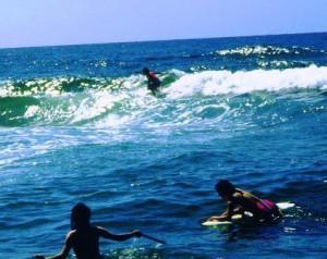 夏は海水浴!