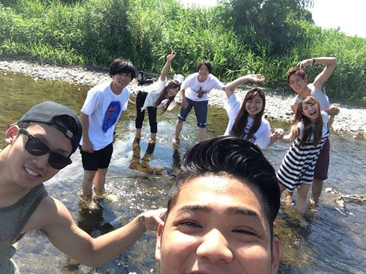 1 夏は川遊び