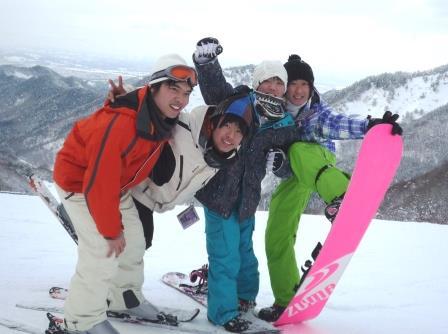 松岬 スキー場 冬用メイン