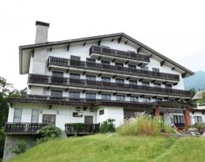 リゾートホテルアルプ外観