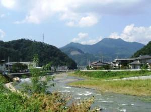 釣りの名所桂川