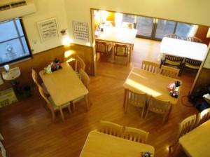 西しばたパンションプチカザデラ食堂