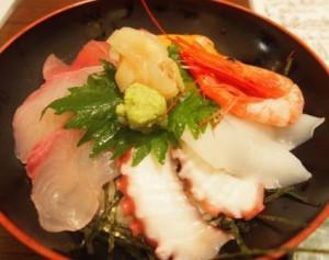 選べる夕食(海鮮丼)
