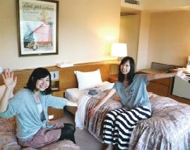 マツキドライビングスクール長井校のホテルプラン、タスパークホテル室内