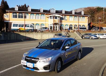 陸前高田ドライビングスクール 校舎と教習車