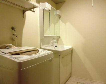 室内  共有の洗面所 洗濯機