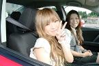 田上自動車学校 合宿免許 女性指導員と。