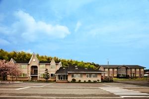 田上自動車学校 宿舎全景