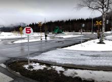 第二北部自動車学校 合宿免許 教習コース 雪