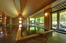 第二北部自動車学校 ホテル鹿角 温泉大浴場