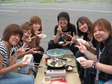 遠野ドライビングスクール ジンギスカン 歓迎 イベント