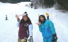 鶴岡自動車学園 合宿免許 スキー スノボ 羽黒山 スキー場