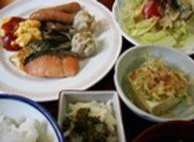 秋田北部自動車学校 合宿免許 アネックスロイヤルホテル 朝食