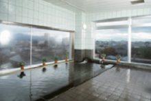 秋田北部自動車学校 合宿免許 温泉大浴場 ロイヤルホテル大館