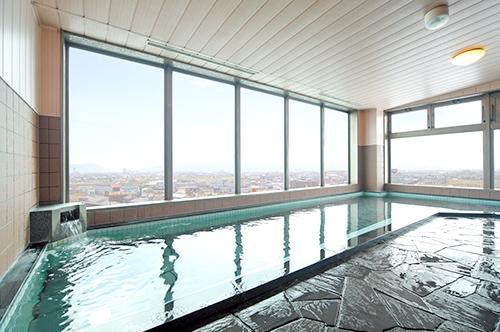 AQAホテル 展望風呂