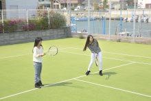 静岡県セイブ自動車学校 専用宿舎 テニス