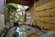 温泉旅館 竹葉 露天風呂
