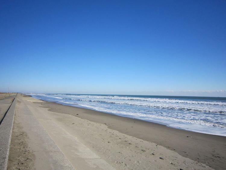 海上中央自動車教習所 九十九里海岸 ビーチライン