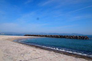 夏休み合宿免許 美しい皆生海岸
