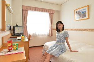 合宿免許 鳥取県東部自動車学校 宿舎 ホテルアルファーワン