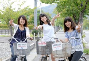 自転車 無料 レンタサイクル