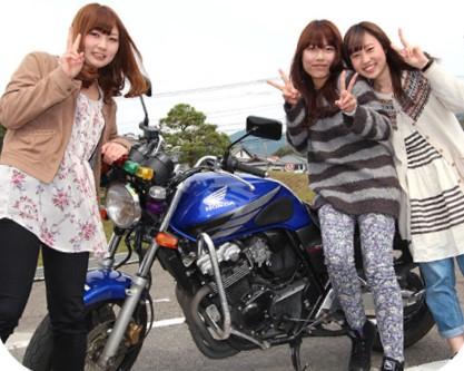 合宿免許 二輪 バイク 同時教習