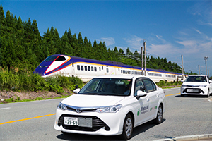 合宿免許 マツキドライビングスクール村山校 新幹線